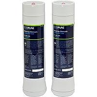 EcoPure ECOROF - Filtres à eau pour osmoseur ECOPURE. Kit de pre/post filtre pour système de filtration par osmose…