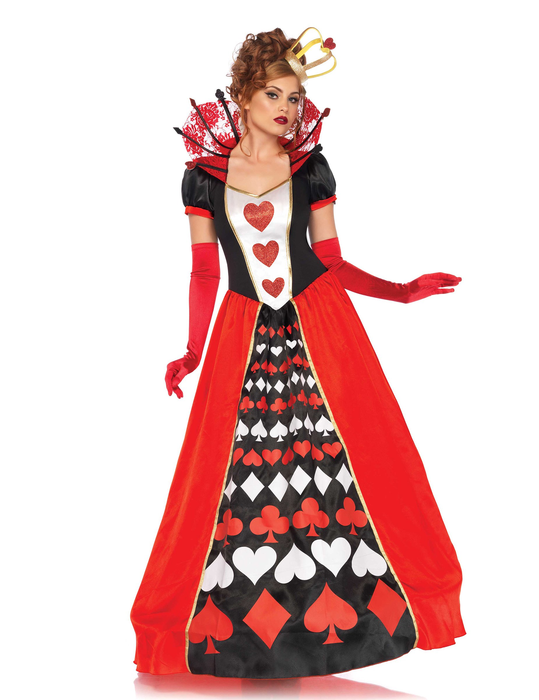 Generique – Disfraz Reina de Corazones Mujer