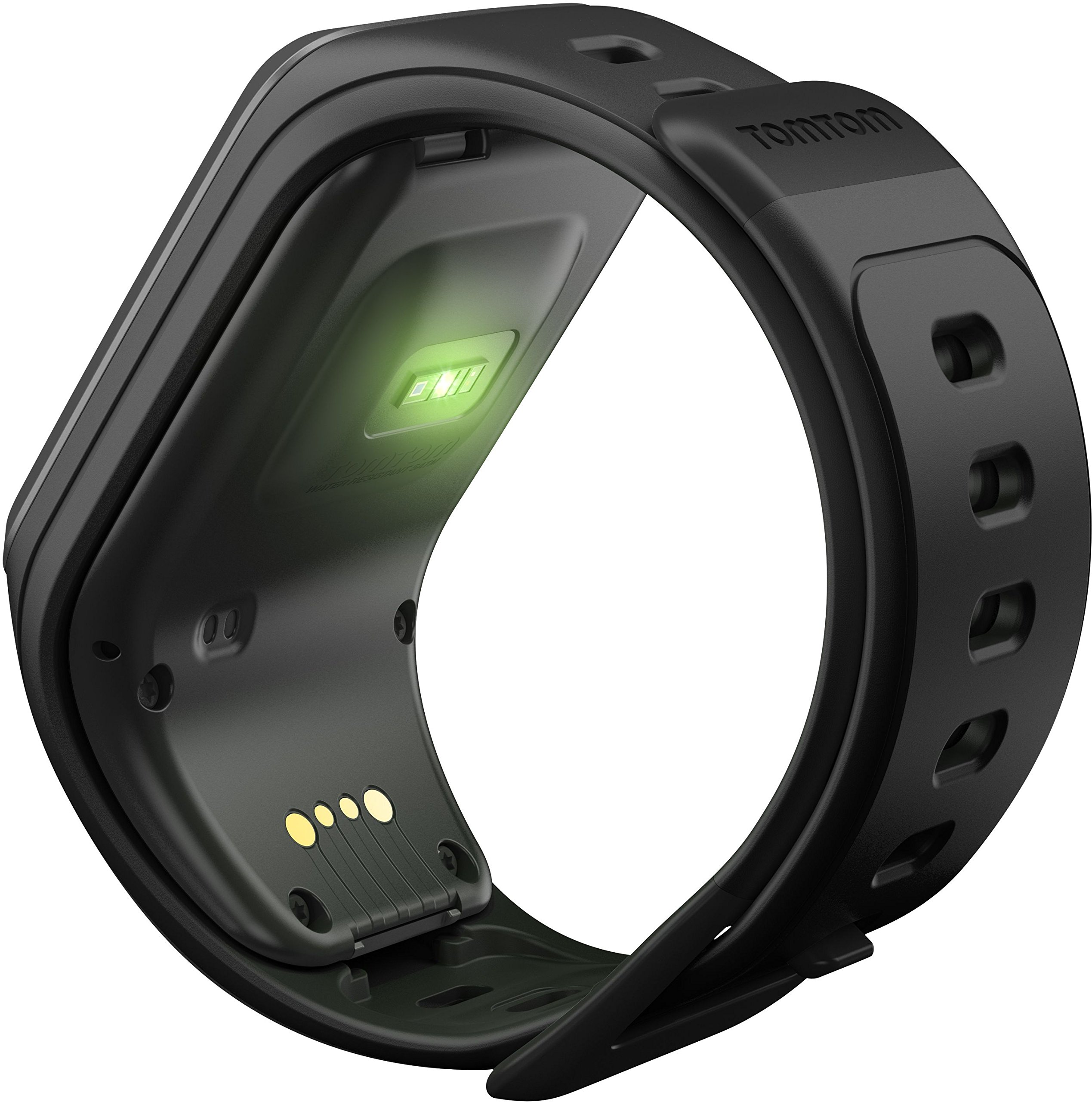 81yR7EOiPTL - TomTom Spark GPS Multi-Sport Fitness Watch with Music, Small Strap - Black
