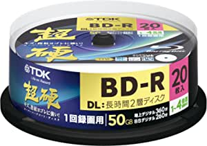 20 Tdk Bd R Dl 50gb Blu Ray Rohlinge Printable Discs Camera Photo