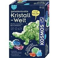 KOSMOS 654153 Fun Science - Geheimnisvolle Kristallwelt. Verrückte Kristallobjekte selbst züchten. KOSMOS…