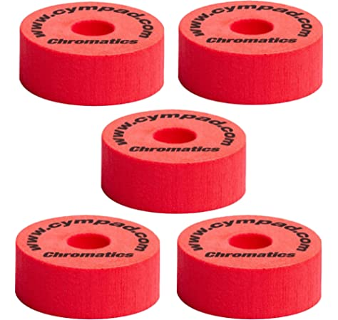8 Pack or 12 Pack RockSolid Red Cymbal Felts for Cymbal Stands