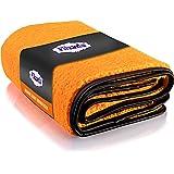 Filzada® Géant Orange XXL (60 x 90 cm) - Tissu en Microfibre Doux pour la Peinture Voiture - Tissu de Polissage pour Voitures