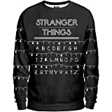 Noorhero - Sweat-Shirt Homme - Stranger Things Light Alphabet