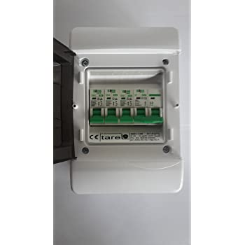 3 way garage shed consumer unit fuse box 63a isolation. Black Bedroom Furniture Sets. Home Design Ideas