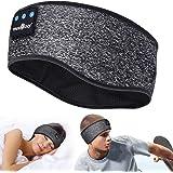 Auriculares para Dormir, Deportes Diadema Regalos para Hombre Mujer,Auriculares Dormir,Deportiva Banda Auriculares con Ultraf