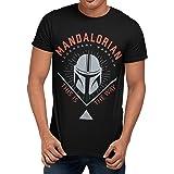 Star Wars Camiseta para Hombre The Mandalorian
