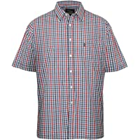 Champion Mens Short Sleeve Shirt Doncaster Casual Checked Shirt