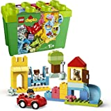 LEGO 10914 DUPLO Classic Luxe Opbergdoos met Kleurrijke Stenen, Educatief Constructiespeelgoed voor Peuters van 1,5 Jaar Oud