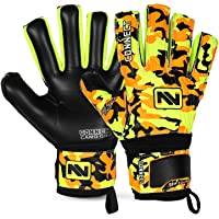 CONNECT Goalkeeper/Goalie Gloves Extreme Grip for Kids, Youth & Adult, With Finger Support/ Spines, Soccer Gloves for…