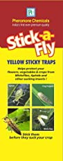 Stick-a-Fly Yellow Sticky Traps