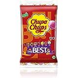 Chupa Chups Original, Caramelo con Palo de Sabores Variados, Bolsa de 120 unidades de 12 gr. (Total 1.440 gr.)