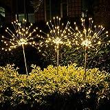 Epyz Solar Garden Lights, Garden Decorative Light, Firework Lights, Solar Landscape Lights, DIY Lights, 90 LED Powered 35 Cop