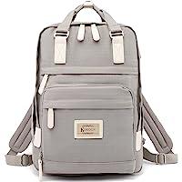 KeKour Rucksack Damen Lässiger Moderner Schulrucksack für 14 Zoll Laptop Rucksack Schule für Mädchen Teenager Camping…