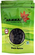 Mannat Black Raisins, 200g