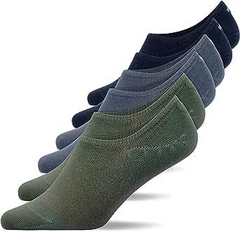 Snocks Socquette Femme (6x) Chaussettes Basses Homme Invisible