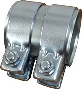 neu M8 X 38 mm Schelle Auspuff Rohrverbinder universal Abgasanlage FORD KA
