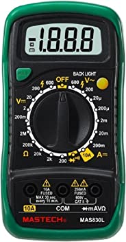 Mastech MAS830L Digital Pocket Multimeter (Assorted)