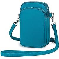 Wind Took Handy Schultertasche Kleine Damen Umhängetasche Handytasche Brieftasche Kartentasche Crossbody Bag Mini Sack…