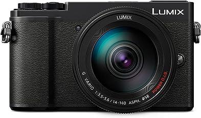 Panasonic Lumix GX9 Systemkamera (20MP, Klappsucher, Hybrid-Kontrast AF, 4K, Touch Screen) mit Objektiv 14-140 mm