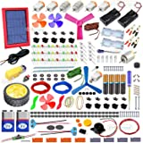 Kit4Curious All in one DIY kit - Solar, Electronic, Robotics, Electrical, Chemistry, Art, Magnetic, Invention Kit with…