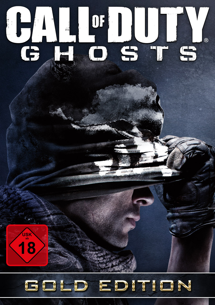 Call of Duty: Ghosts Gold Edition [PC Code - Steam] (Of Ghost Call Pc-spiel Duty)