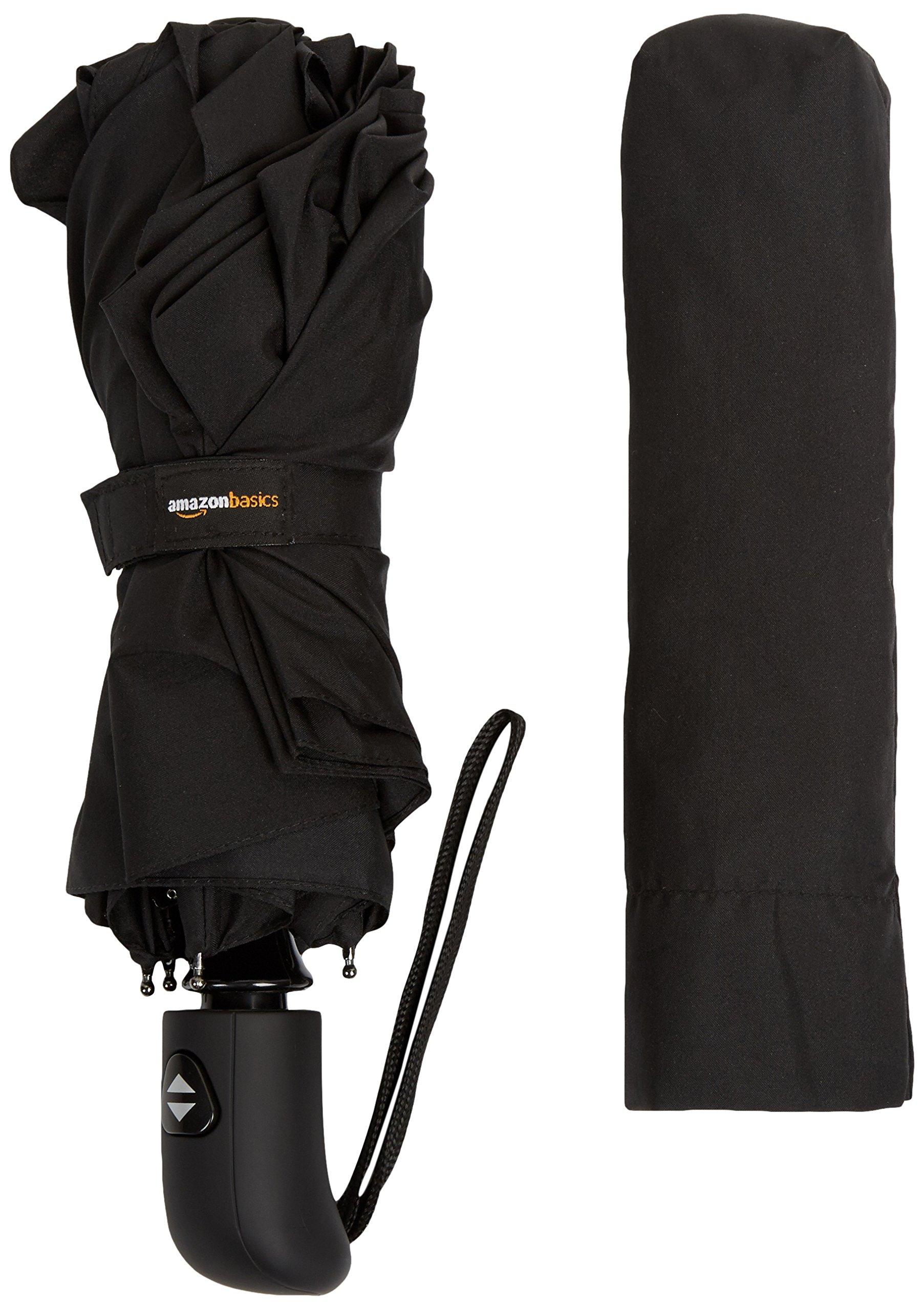 AmazonBasics Umbrella with Wind Vent, Light Blue 6