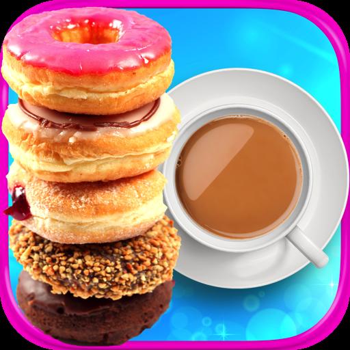 Coffee & Donuts - Kids Dessert & Food Maker Games FREE