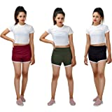 More & More Women's Cotton Shorts | (Pack of 3)