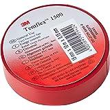 3M TROT1510 Temflex 1500 vinyl elektrische isolatietape, 15 mm x 10 m, 0,15 mm, rood