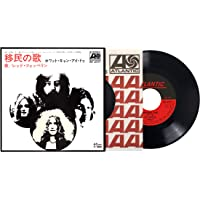 """Immigrant Song,Hey Hey What Can I Do (7"""" Edizione Giapponese Limited Edt.)"""