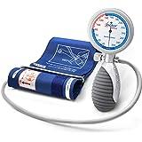 AIESI® Sfigmomanometro Manuale Professionale Aneroide modello palmare per adulti DOCTOR ANEROID # Impugnatura orientabile # G