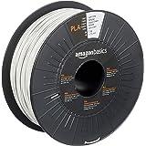 Amazon Basics Filament PLA pour imprimante 3D, 1,75mm, Gris clair, Bobine, 1kg