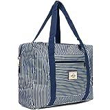 Cleostyle Strandtasche Damen Badetasche mit Reißverschluss Shopper Beach Bag Schultertasche Einkaufstasche Klein 722