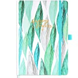 Amazon Brand - Eono Diary 2022 Week to View, A5 12 Month Planner with Green Hardcover, Pen Loop and Back Pocket, 21.3 x 14.7