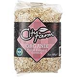 Cityfarm Organik Yulaf Ezmesi,500 Gr