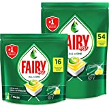 Fairy All In One Dishwasher Tablets, 70 Count