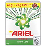 Ariel Matic Front Load Detergent Washing Powder - 4 kg with Free Detergent Powder - 2 kg - Pantry