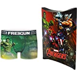 Marvel Avengers - Calzoncillos con bolsa de regalo, colección oficial Freegun