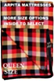 Generic Cotton Mattress Covers Queen Size Bed (75X60X8 inch_Multicolor)