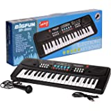 MATZO 37 Key Piano Keyboard Toy with Dc Power Option, Recording and Mic for Kids - 2019 Latest Model