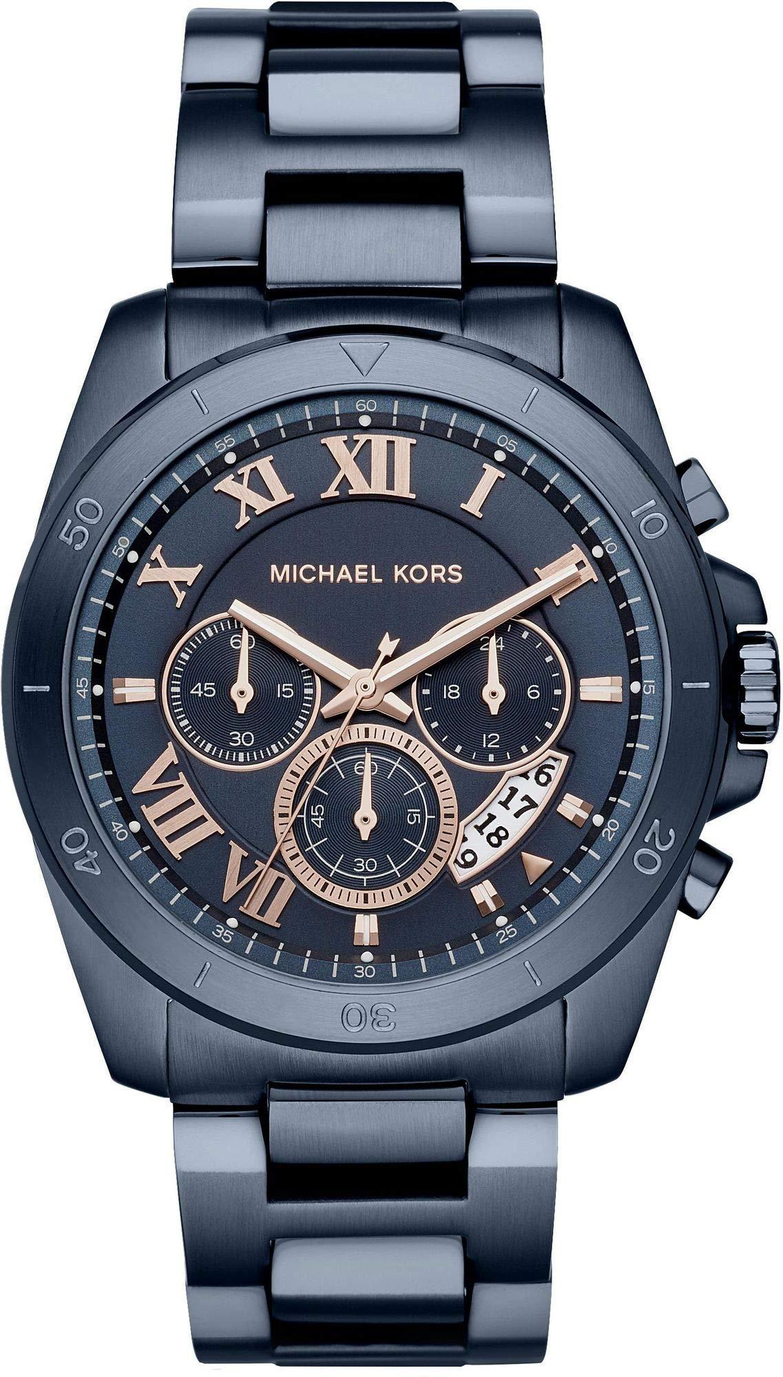 Michael Kors Reloj Analogico para Hombre de Cuarzo con Correa en Acero Inoxidable MK8610