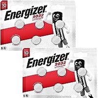 Energizer CR2032 Piles au Lithium 3V pour Montres, Torches et Clés (12 Piles)