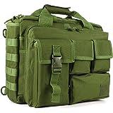 GES Multifunctionele schoudertas voor heren, outdoor, militaire tactische nylon schoudertas, aktetas, handtassen, laptoptas,