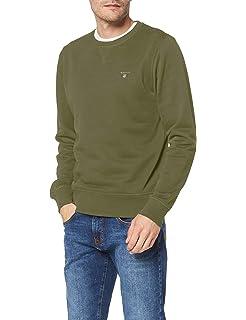 GANT Men's Cotton Wool Crew Jumper: Gant: Amazon.co.uk: Clothing