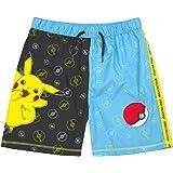Pokemon Short de Bain Garçons Pikachu Pantalon de Bain Trunks Enfants et Ados