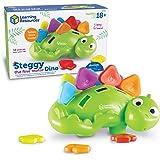 Learning Resources- Dinosaure Steggy pour la motricité Fine, LER9091