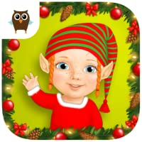 Sweet Baby Girl Christmas Fun and Santa Gifts - No Ads