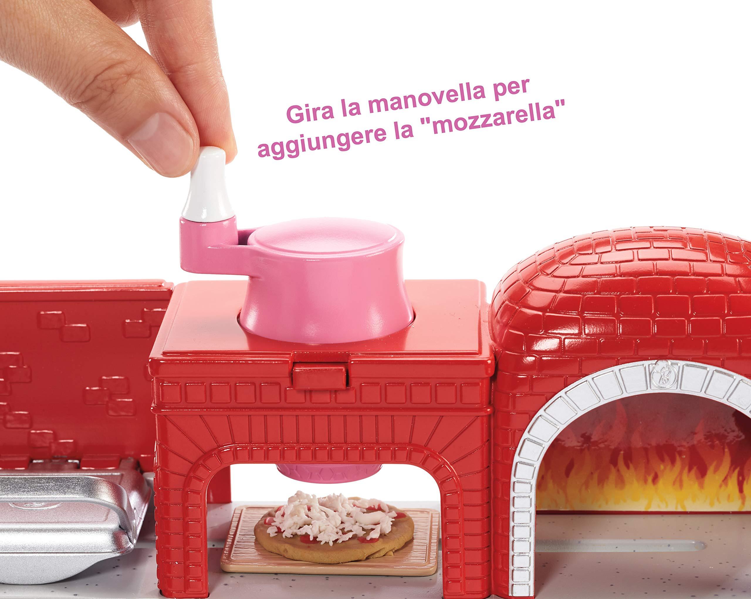 Barbie Pizzeria con Bambola