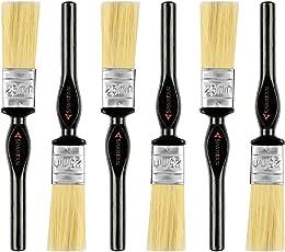 Spartan Paint Brush Multicolour Handle Set of 6 (25 MM)